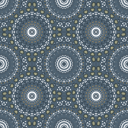 Biological like circular seamless pattern, abstract colorful background, texture. seamless pattern, abstract colorful background, texture. Illustration