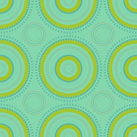 Vibrant circular large scale seamless pattern, abstract colorful background, texture. Illusztráció
