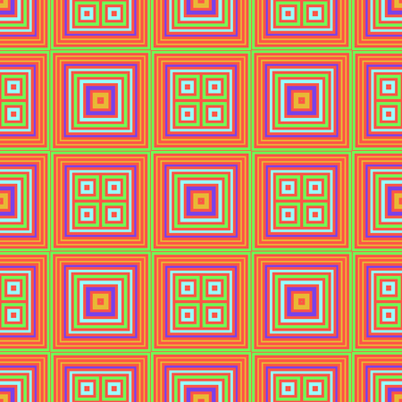 Vibrant squares seamless pattern, abstract colorful background, texture