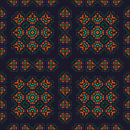 Traditionally, native looking seamless pattern, abstract colorful background, texture
