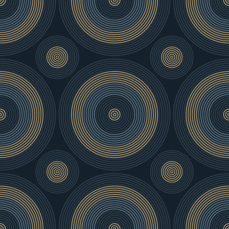 Vibrant circles seamless pattern, abstract colorful background, texture