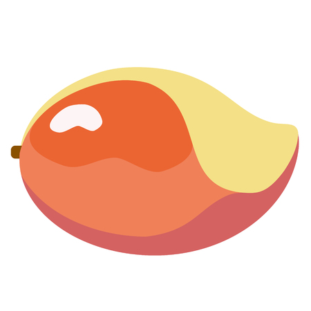 mango flat simple illustration