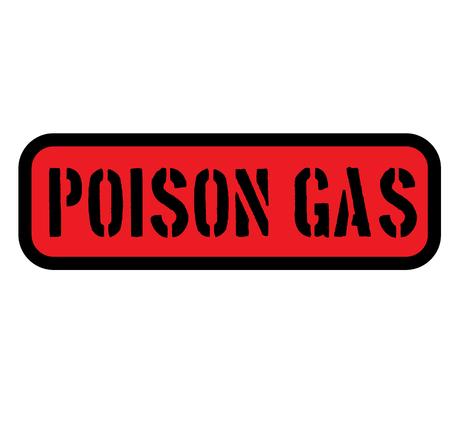 poison gas sign Illustration