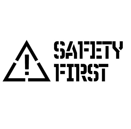 safety first label
