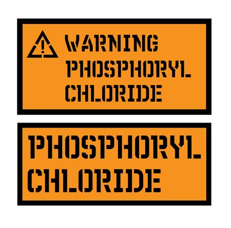 phosphoryl chloride sign