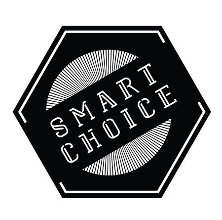 smart choice stamp Illusztráció