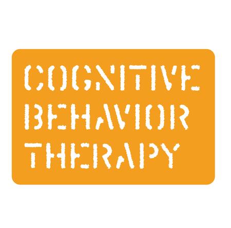 cognitive behavior sign  イラスト・ベクター素材