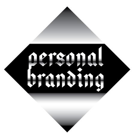 personal branding label