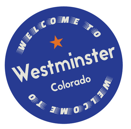 Welcome to Westminster Colorado 写真素材 - 118956279