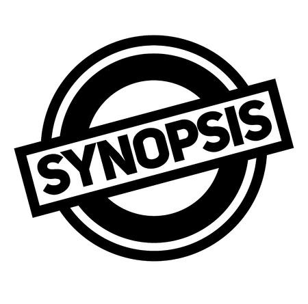 synopsis black stamp