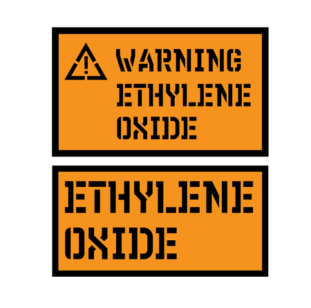 ethylene oxide sign
