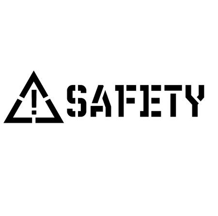 safety label illustration