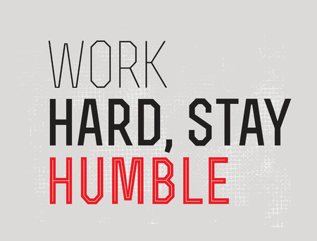 Work Hard Stay Humble motivation quote