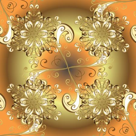 Seamless pattern. Vector illustration. Ultrafashionable fabric pattern. Abstract motif background.