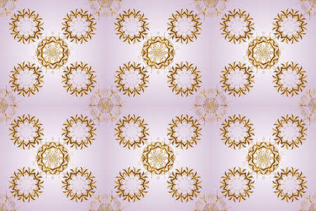 Seamless floral pattern. Graphic modern seamless pattern on gray and neutral colors. Seamless raster background. Sketch baroque, damask.