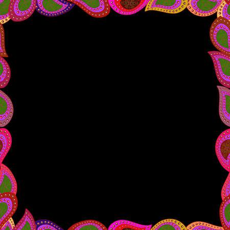 frame image illustration Standard-Bild - 154906982