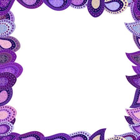 frame design illustration Standard-Bild - 154911529