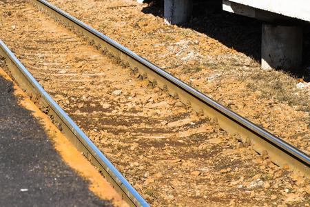 sleepers: rails, sleepers, road, industrial