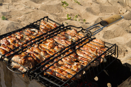 carnes: parrillas, carnes a la brasa
