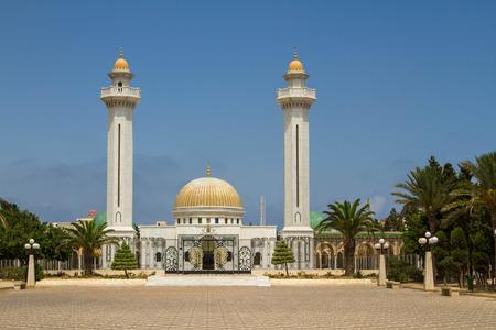 June 25, 2017. Tunisia. Hammamet. Area and mosque.