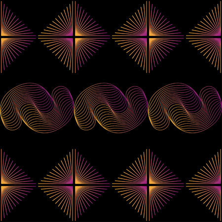 abstract wallpaper: Seamless abstract wallpaper. Vector illustration, EPS8. High res jpg included.