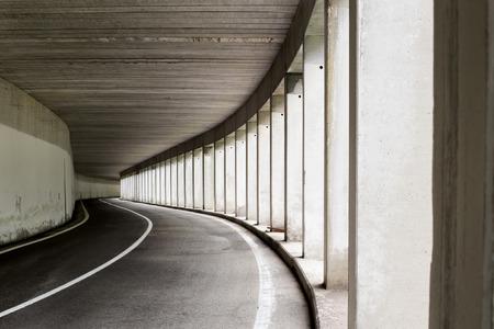 deepness: Open sided road tunnel