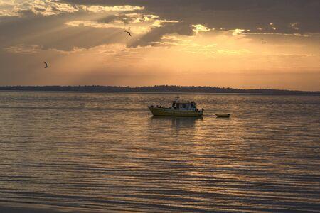 Sunset at Fraser Island, Australia
