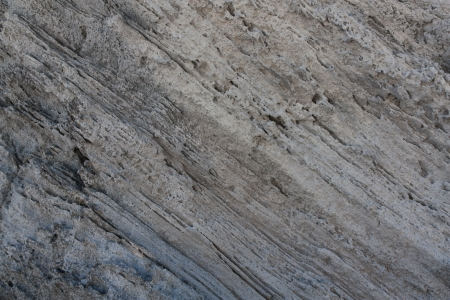 The photo shows the texture of rock.