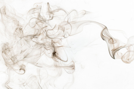 This abstract photo shows the image of smoke.