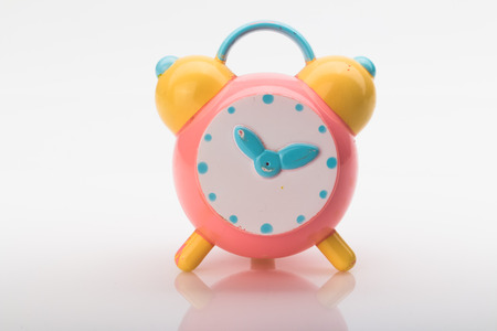 In the picture you can see an old toy alarm clock.