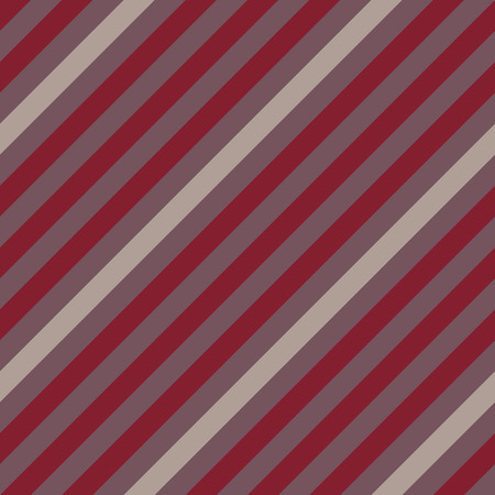 striated: Seamless geometric pattern. Stripy texture for neck tie. Diagonal contrast strips on background. Brown gray vinous colors. Vector Illustration