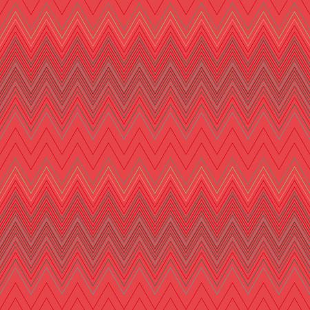 hosiery: Seamless geometric striped pattern. Stripy background. Zig-zag line lace texture. Red colored. Womens stockings, hosiery, garter, undies, sale theme. Vector