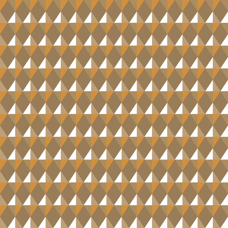 Seamless geometric pattern. Carbon texture. Rhombus convex shine light figures on yellow background. Gold, jewelry, honey theme. Shine, glitter colored. Vector