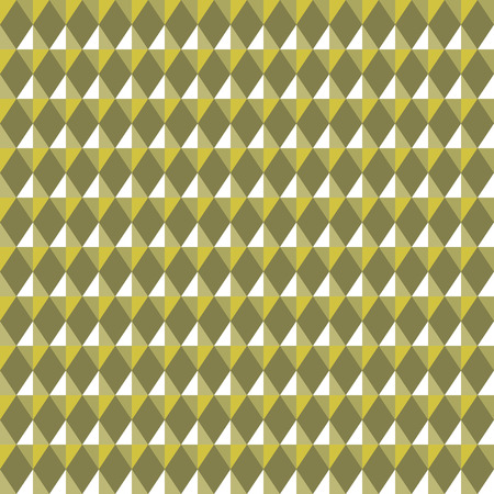 rhombic: Seamless geometric rhombic pattern. Convex shine texture with glitters, sparkles on rhombs. Green-gold  colored background. Vector