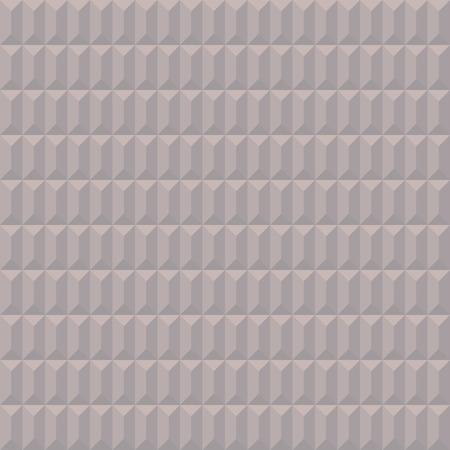 pastel shades: Seamless geometric convex pattern. Pyramidal, trapezoidal texture. Volumetric pastel shades simple background. Vector illustration.