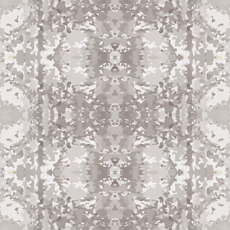 parget: Seamless nature pattern. Stone, snake skin, band view mosaic motley texture. Ornamental collage. Gray soft colored background. Vector Illustration