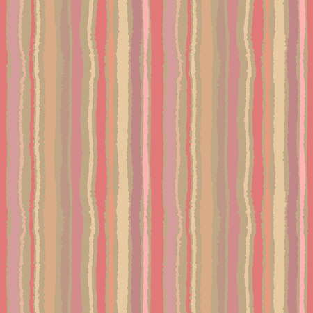 torn edge: Seamless strip pattern. Vertical lines with torn paper effect. Shred edge background. Pastel colors. Vector illustration
