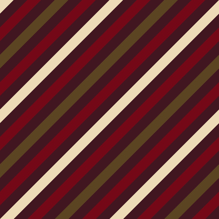 striated: Seamless geometric pattern. Stripy texture for neck tie. Diagonal contrast strips on background. Brown vinous beige colors. Vector