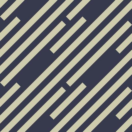 dark purple: Seamless geometric pattern. Stripy texture. Diagonal khaki, dark purple, black strips. Labyrinth theme background. Vector