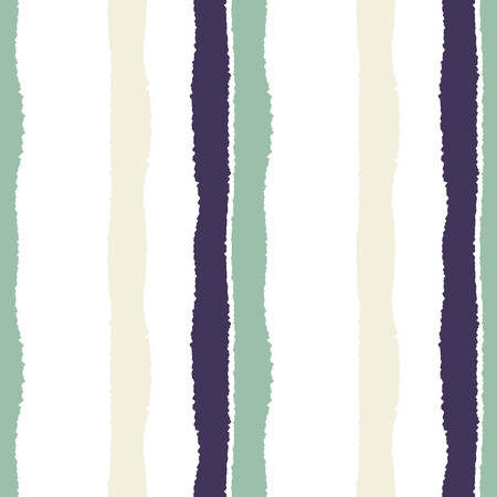 striped band: Striped seamless pattern. Vertical wide lines with torn paper effect. Shred edge band background. Gray, blue, white contrast colors. Vector