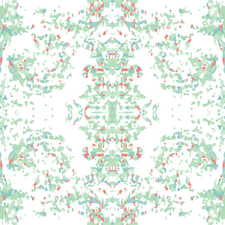 motley: Seamless nature pattern. Stone, snake skin, band view mosaic motley texture. Ornamental collage. Green, rose, white soft colored background. Vector