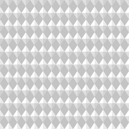 Carbon seamless pattern. Rhombic light gray convex texture. Vector