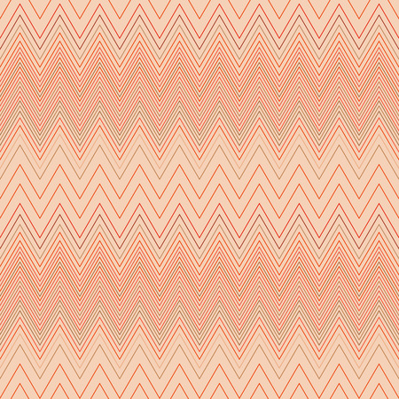 hosiery: Seamless zigzag hatch pattern. Geometric stripy background. Wedged, striped, line lace texture. Stockings, lingerie, hosiery, garter, undies material theme. Beige soft colored. Vector