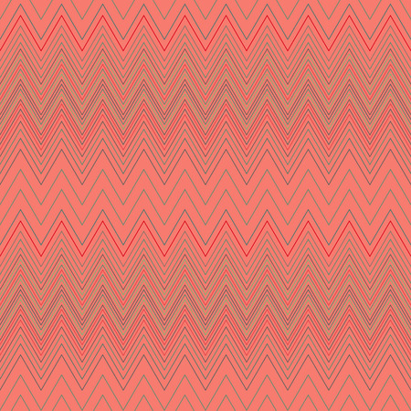 Seamless zigzag hatch pattern. Geometric stripy background. Wedged, striped, line lace texture. Stockings, lingerie, hosiery, garter, undies material theme. Rosy, beige soft colored. Vector