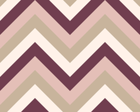 grey cat: Striped, zigzagging seamless pattern. Zigzag line texture. Stripy geometric background. Brown, maroon, beige olive colored. Vector