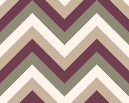 grey cat: Striped, zigzagging seamless pattern. Zig-zag line texture. Stripy geometric background. Brown, gray, beige olive colored. Vector