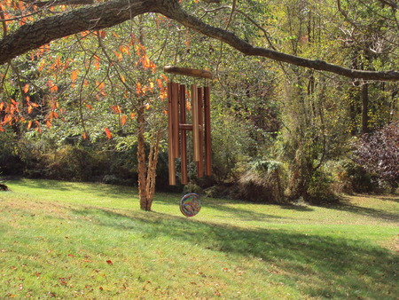 chimes: Autumn chimes Stock Photo