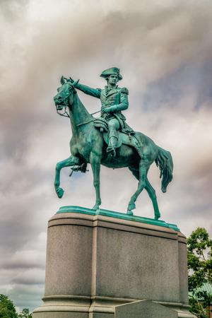 statue of Nathanael Greene in Washington DC