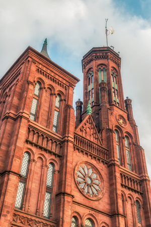 WASHINGTON DC, USA: The Smithsonian Castle houses the administrative offices of the Smithsonian. The main visitor center is also located here, with interactive displays and maps.