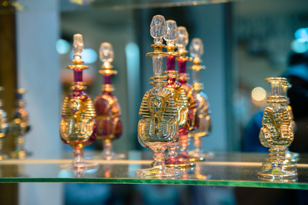 Bottles for perfume. Egypt. Stock Photo